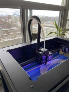 3d printer making medical device