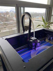 3d printer making medical device